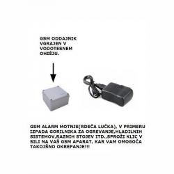 GSM ALARM MOTNJE(RDEČE...