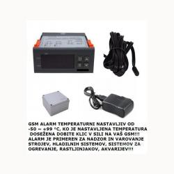GSM DIGITALNI TERMOSTAT -50...