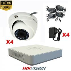 Hikvision kit 2- VIDEO...