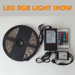 RGB LED TRAK LIGHT SHOW,...