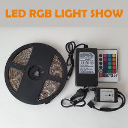 RGB LED TRAK LIGHT SHOW,...